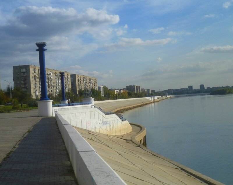Омск, река Иртыш (Omsk, the river Irtysh)