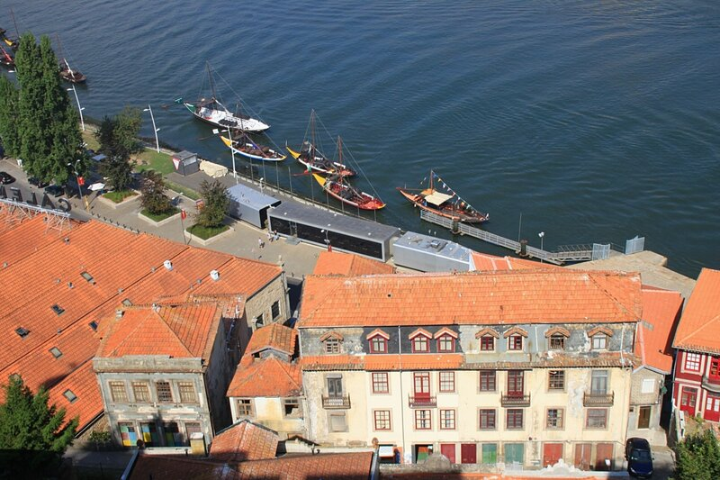 Порту, вид из Вила-Нова-ди-Гая (Porto view from Vila Nova de Gaia)