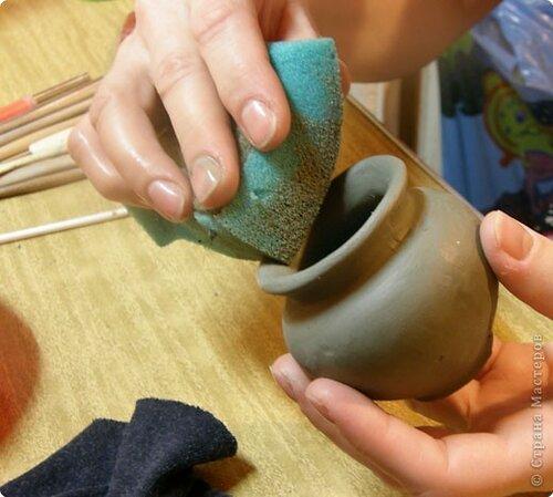 Мастер-класс Лепка: Глиняное литье. Глина. Фото 15