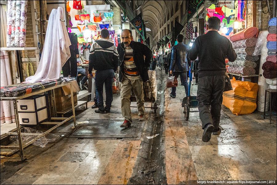 Гранд Базар в Тегеране / Tehran Bazaar Bazaar