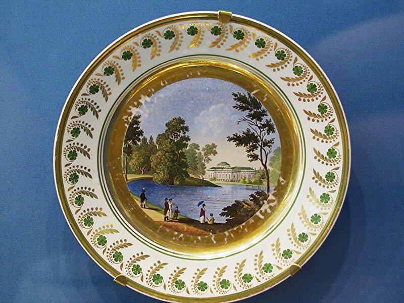 Тарелка с видом Таврического дворца