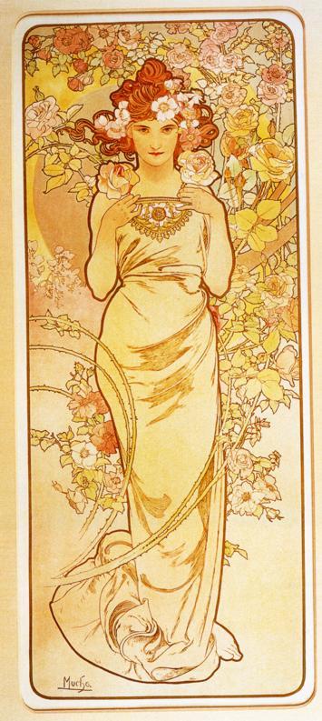 """""""Роза"""", 1898 год"""
