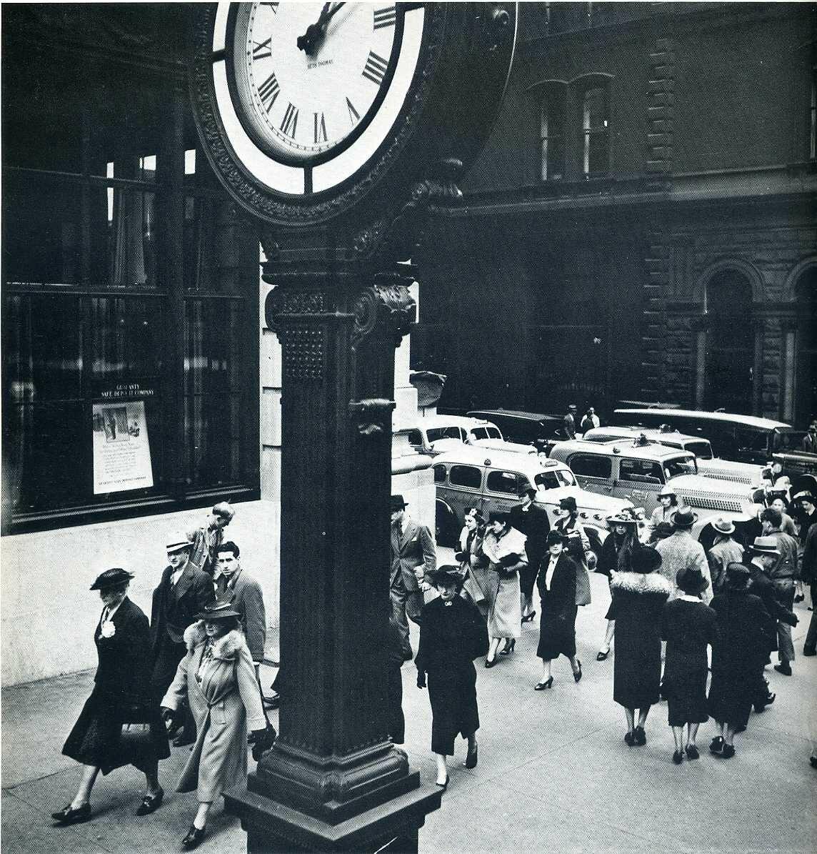 1938. Пятая Авеню и 44 Стрит