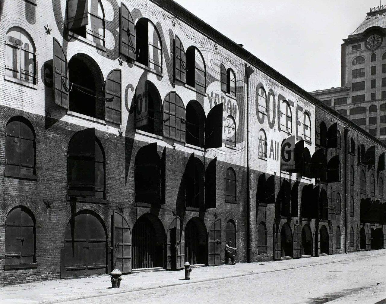 1936. Склад (Юбан), район доков, Бруклин, 22 мая