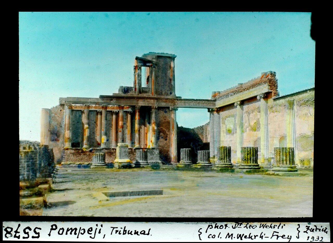 1932. Базилика  с двухэтажным «трибуналом»
