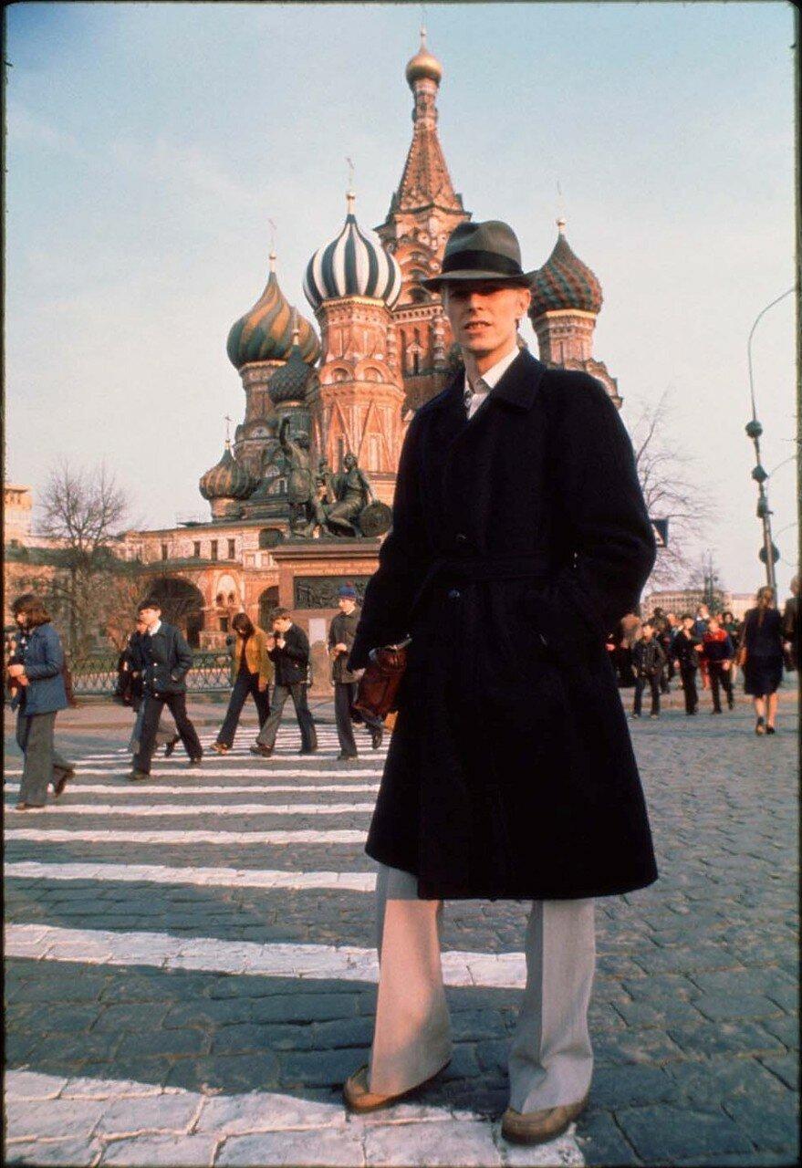 1976. Дэвид Боуи на Красной площади