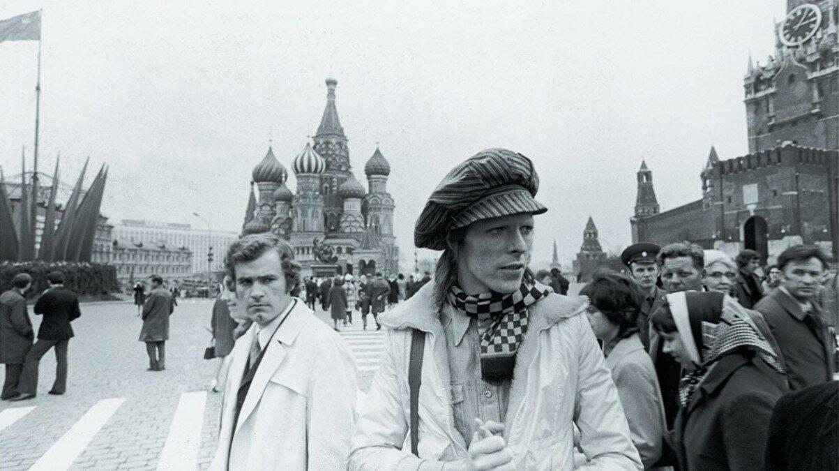 1973. Дэвид Боуи на Красной площади