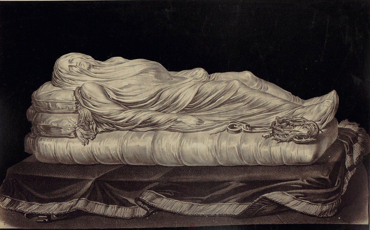 20. Капелла Сан-Северо. Скульптура «Христос под плащаницей»