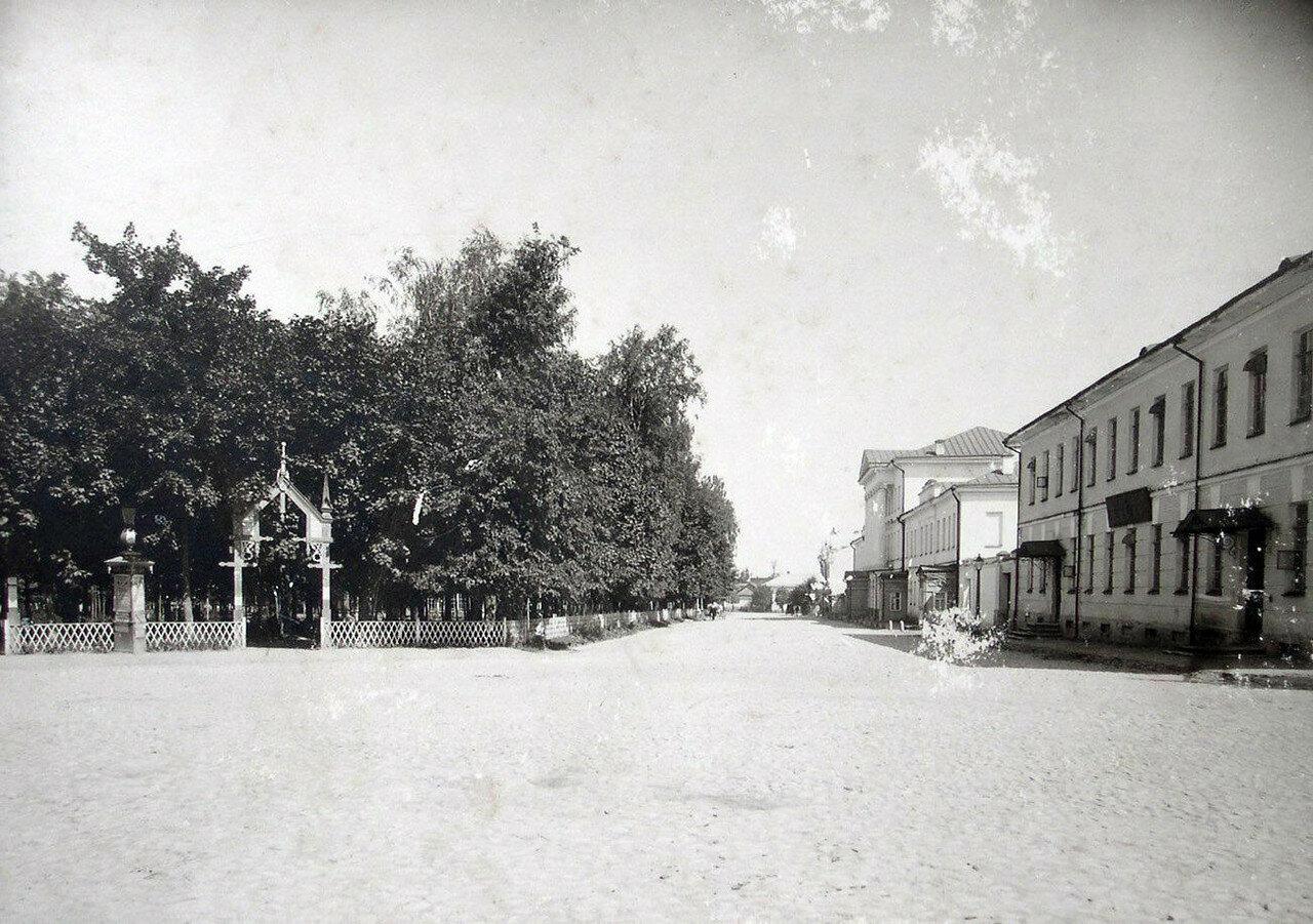 Сад Блонье и Малая Дворянская улица. 1901