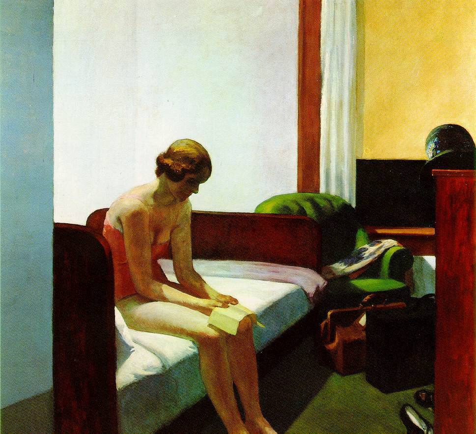 Hopper, Hotel Room 1931