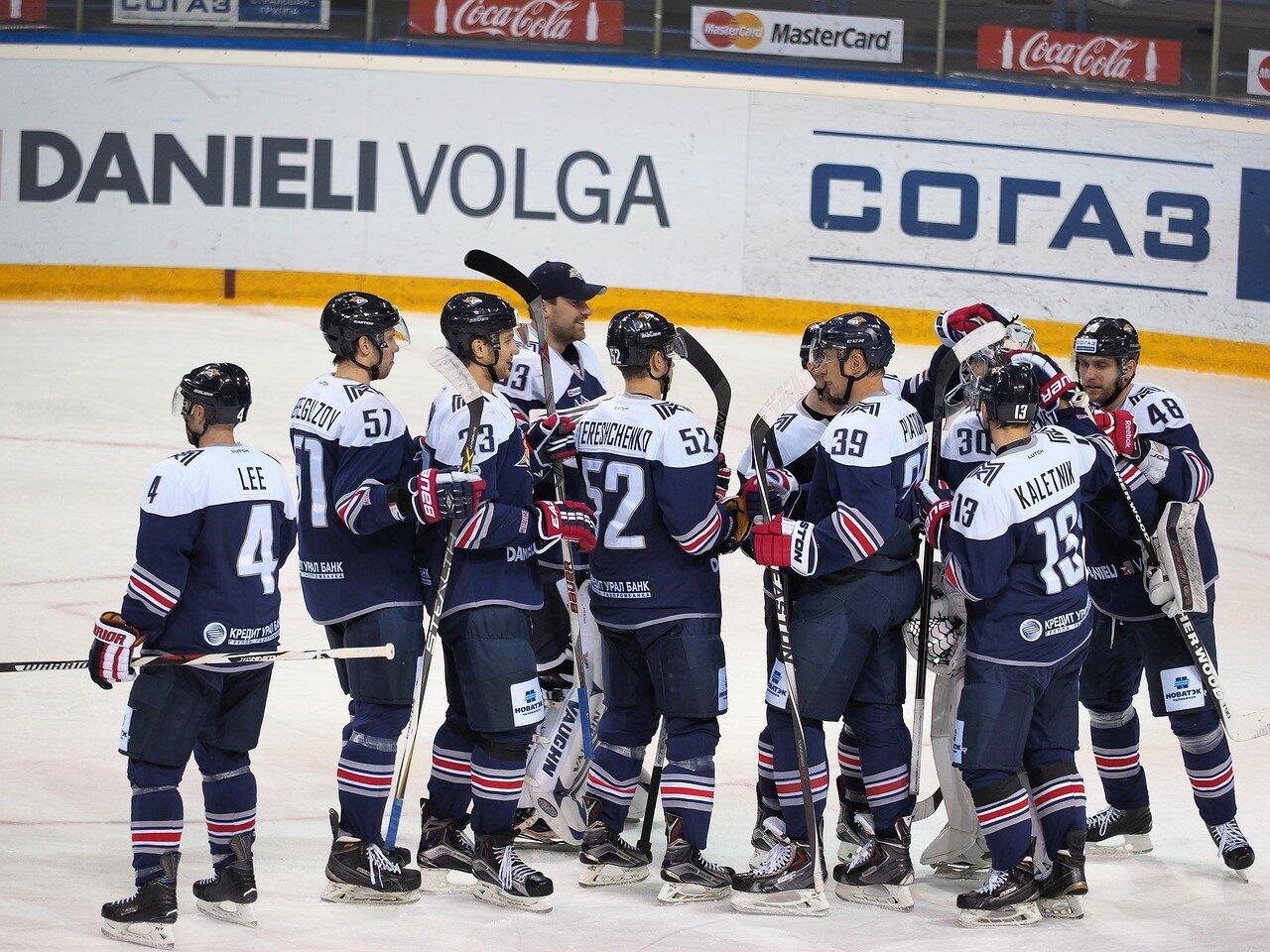 112Восток 1/4 плей-офф Металлург - Автомобилист 01.03.2016