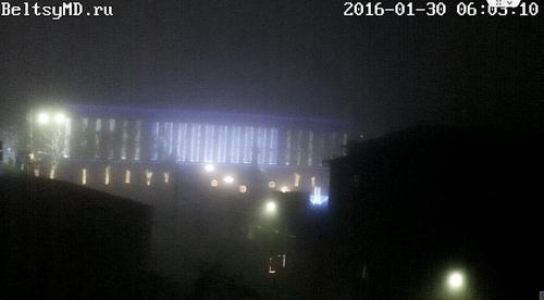 Туман в Бельцах рассеялся, в выходные будет тепло и солнечно