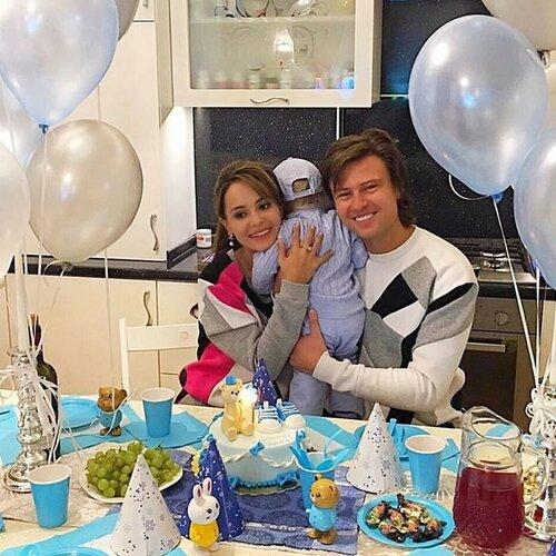Прохор Шаляпин показал своего сына в его день рождения