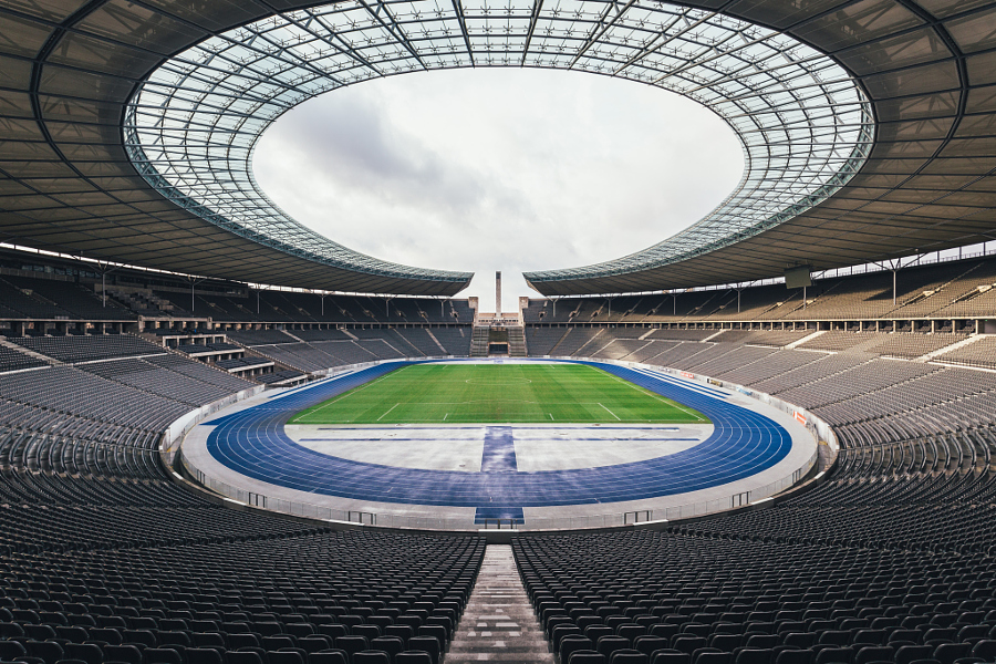 Olympiastadion Berlin - anatomy of 75.000 seats