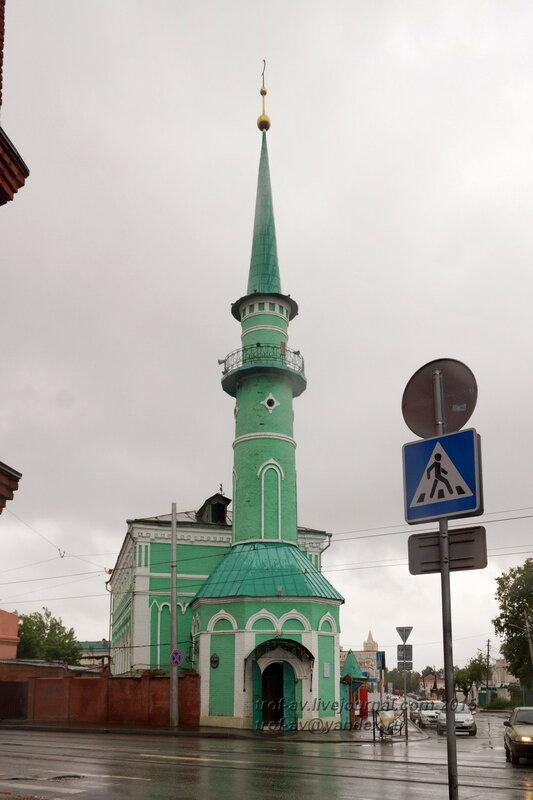 Султановская мечеть (Восьмая соборная), 1868 г., Казань