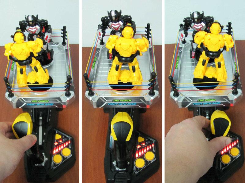 GearBest: «Живая сталь» по-китайски: роботы на арене