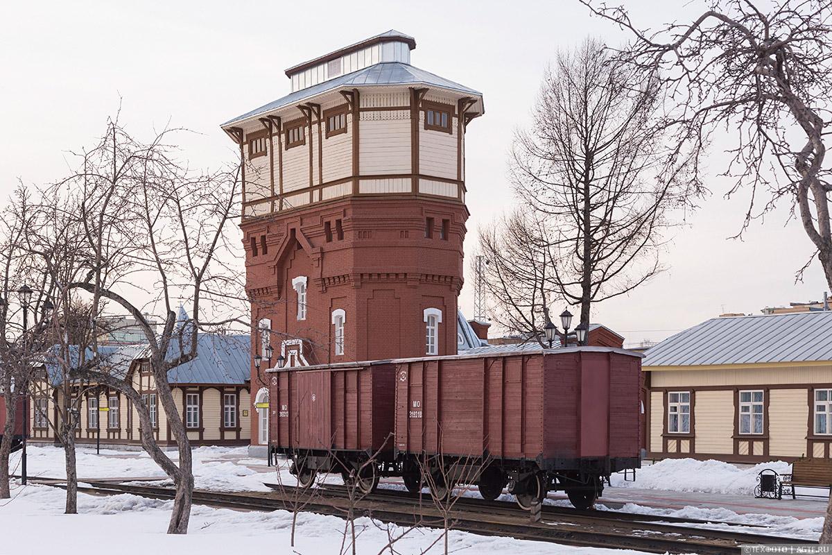 Водоемное здание паровозного депо