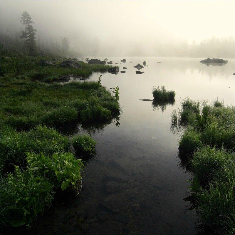 Природа Красноярского края. Удивительно красивые озера и горы парка Ергаки
