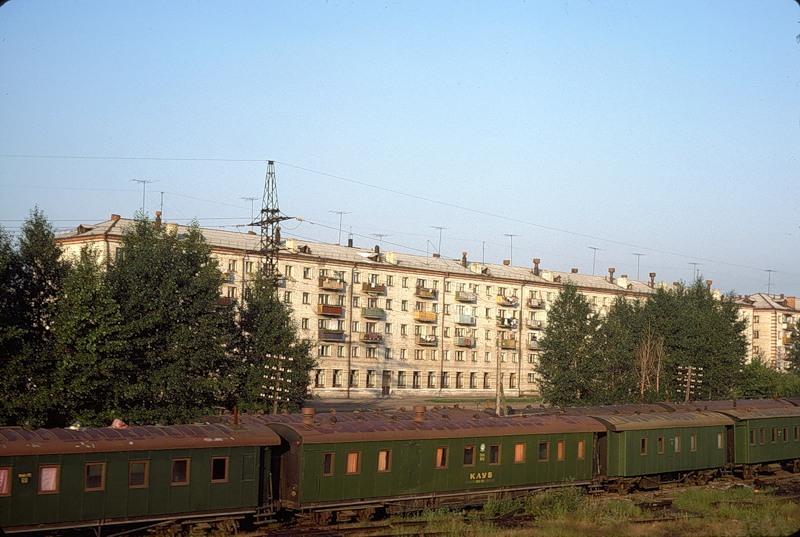 Станция «Шаля» в Свердловской области