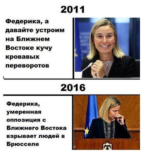 Россия и Запад: Политика в картинках #14