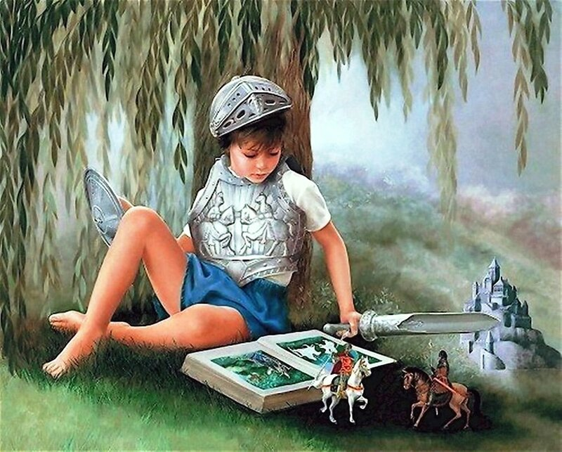 Художница Линн Лупетти. Мир сказки... (2).jpg