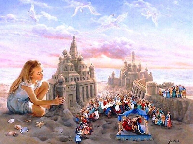Художница Линн Лупетти. Мир сказки... (3).jpg