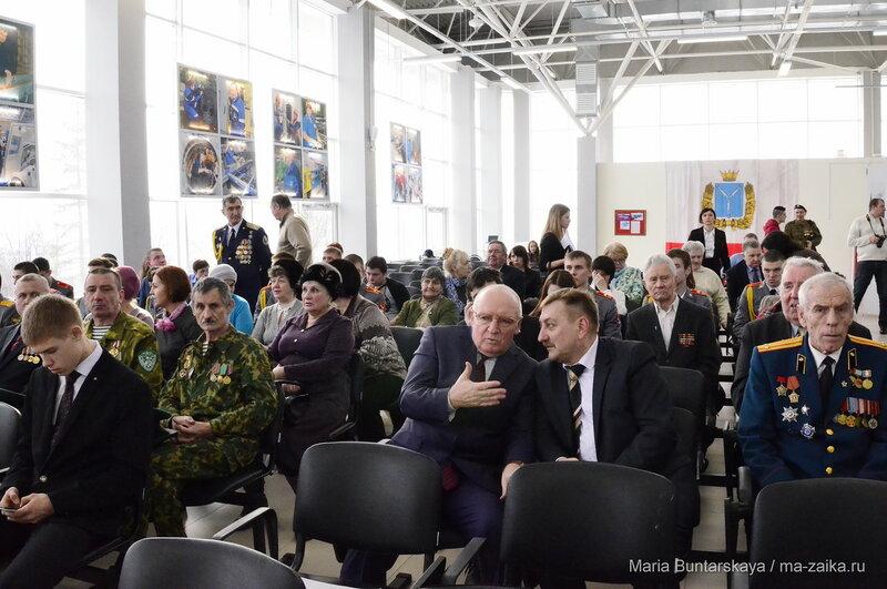 День Защитника Отечества для ветеранов, парк Победы, 20 февраля 2016 года