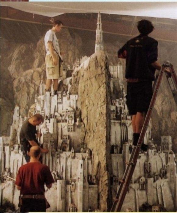 Миниатюрные декорации известных фильмов