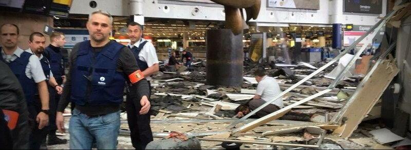 Бельгия. Брюссель. Аэропорт. Теракт, 22 марта 2016
