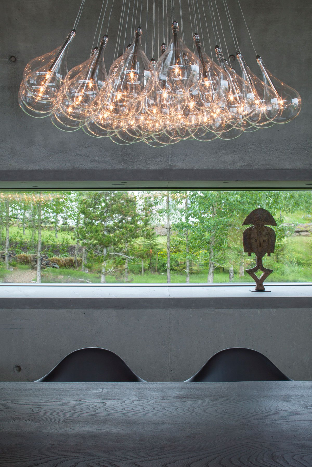 EON architecture, House of Shapes, панорамное остекление фото, частные дома в Исландии фото, необычная форма дома фото, дизайн лестницы в частном доме
