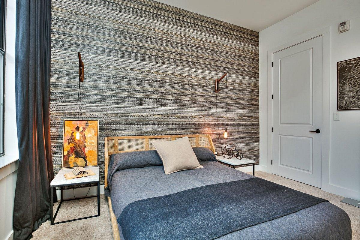 Батон-Руж, штат Луизиана, США, Kenneth Brown Design, не дорогой дизайн интерьера квартиры, как живут американские студенты, американский кампус фото