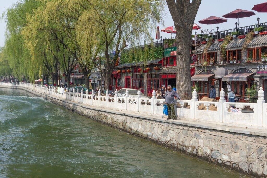 Северная набережная Хоухай, Шичахай, Пекин
