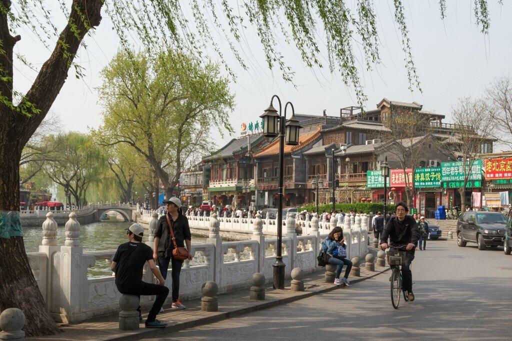 Восточная набережная Цяньхай, Шичахай, Пекин