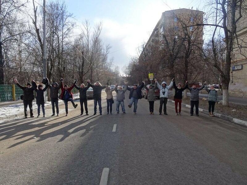 Перекрытие улицы Ферсмана