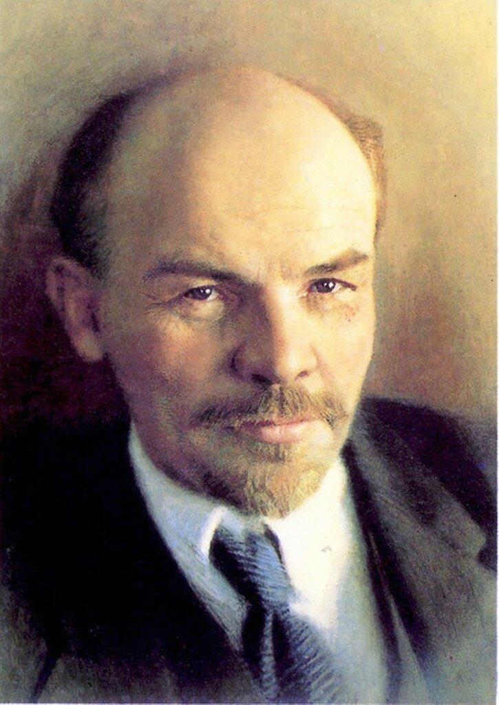В.И. Ленин. Портрет, выполненный Китаевым в 80-е годы... .jpg