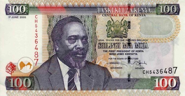 Кения, 100 шиллингов, 2005