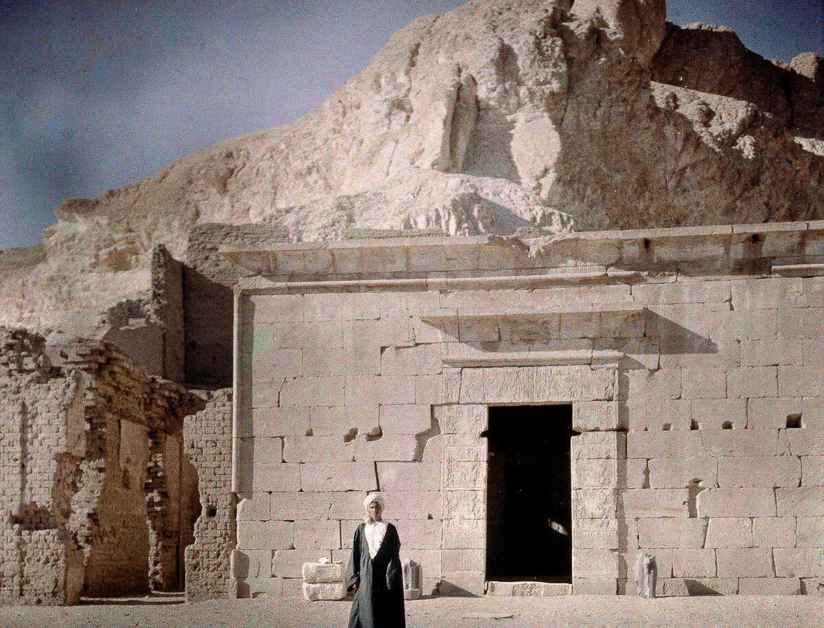 1913. Храм в Дар Эль Медина