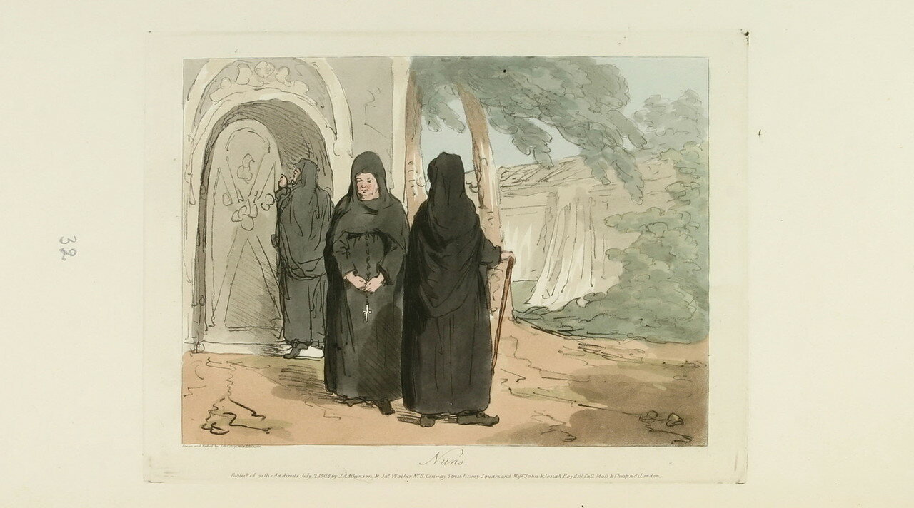 99. Монахини