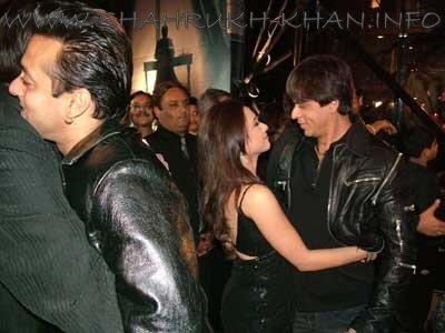 Shahrukh Khan and Rani