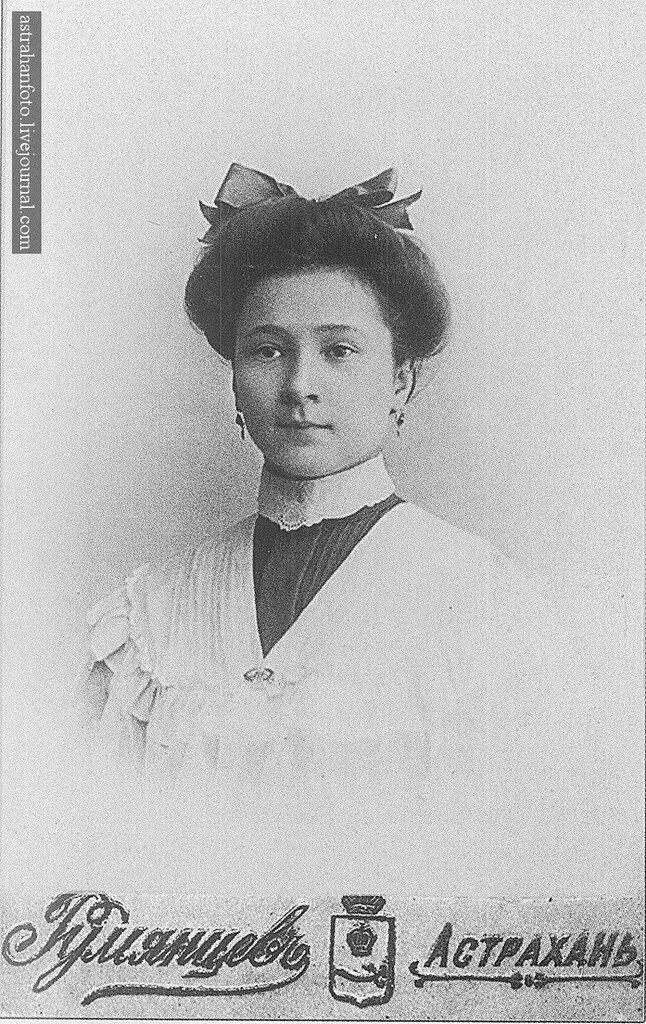 Портрет М. Широковой. 1900-е годы.
