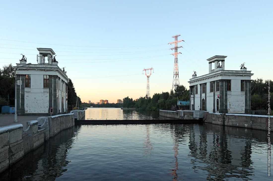 шлюз №7 канала имени Москвы лето фото