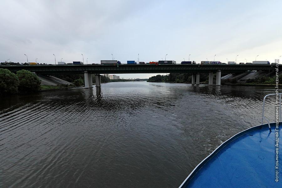 Мост МКАД через канал имени Москвы