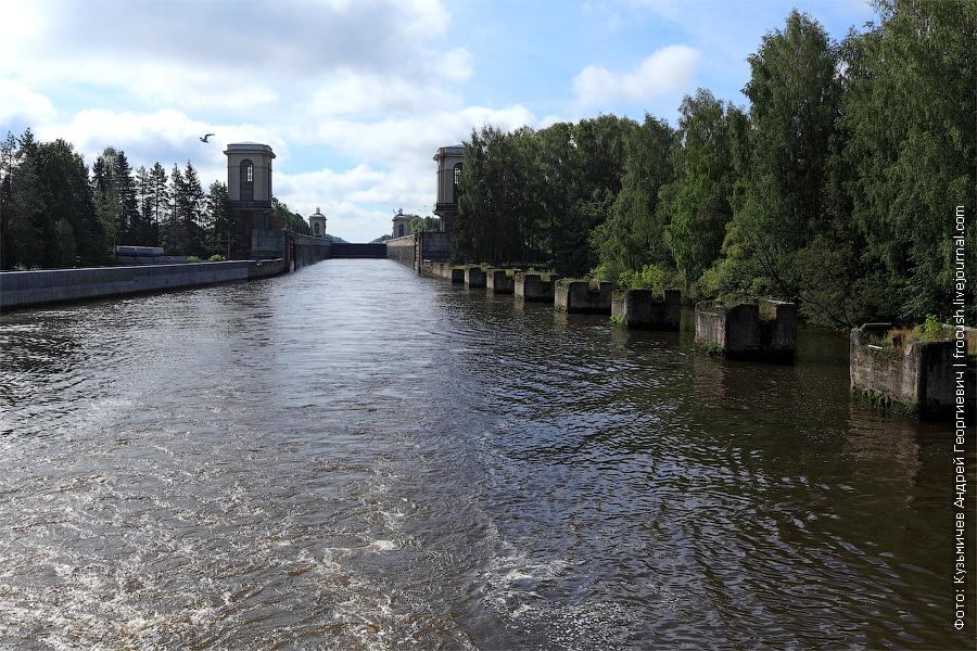 второй шлюз канала имени Москвы