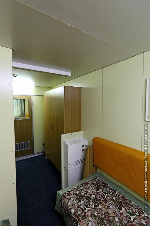 Главная палуба. Двухместная одноярусная каюта №223 со всеми удобствами. теплоход Федор Достоевский