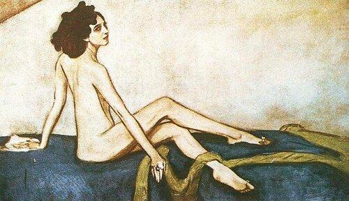 Серов Валентин, Рубинштейн Ида, великая балерина. 1910 г.