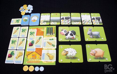 настольная игра Счастливая Ферма