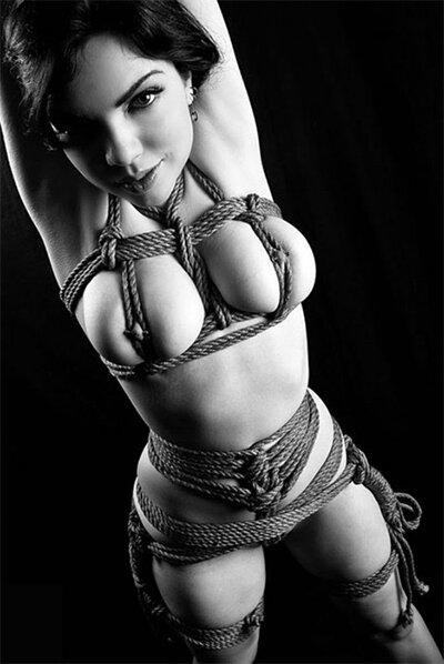 Фото женского бондажа фото 145-606