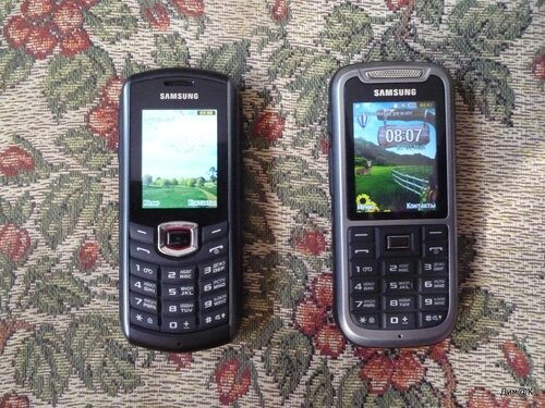 Samsung B2710 и C3350 (вид спереди)