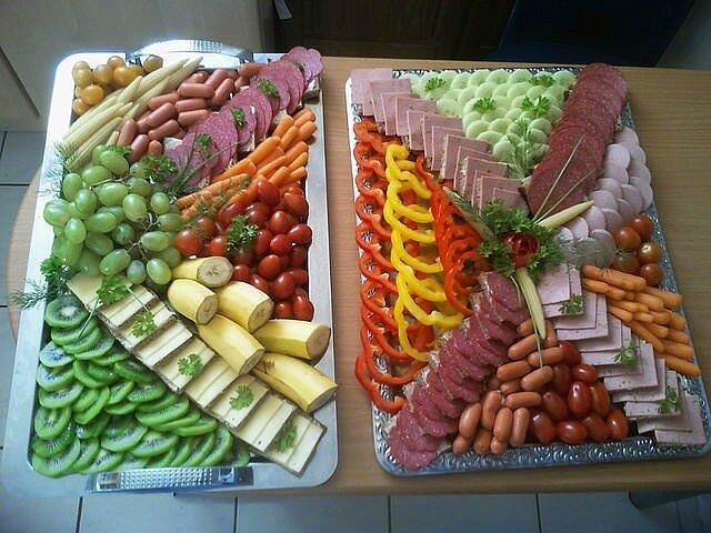 Украшения блюд праздничного стола идеи