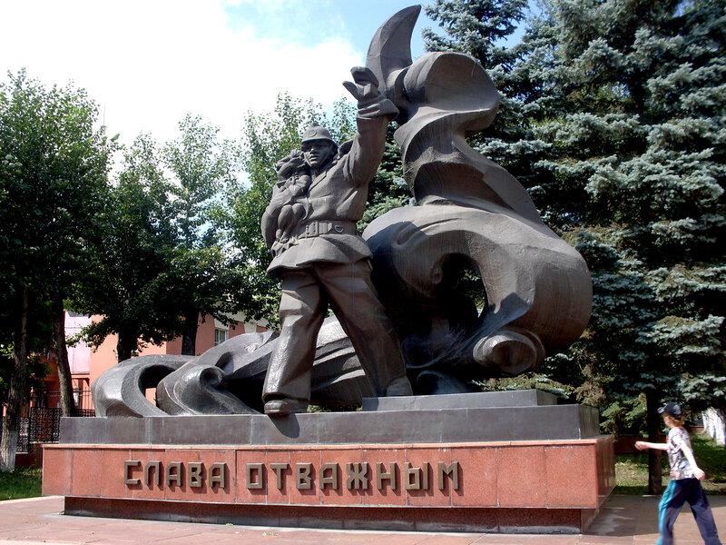 """Памятник """"Слава пожарным"""""""